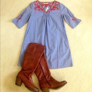 madewell chambray dress/tunic